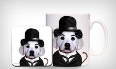 Animais de estimação caracterizados como celebridades são estampados em acessórios - Casa - MdeMulher - Ed. Abril