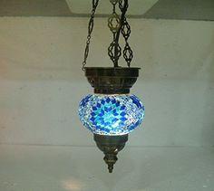 Blue moroccan lantern mosaic hanging lamp glass chandelier light turkish candle holder 200 handmade_antiques http://www.amazon.com/dp/B01EG5S77C/ref=cm_sw_r_pi_dp_FVpfxb0G3Q154