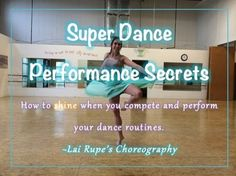 Performing a dance routine, versus doing the steps, will make a huge difference when you compete and perform routines. These tips will help you as a dancer and a coach, to ensure your dancers perform to their best ability!
