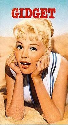 Sandra Dee as Gidget- This whole series is so fun and wonderful. I love the innocents of it. She is just adorable too!