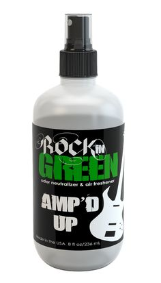 LC Pals - Rockin' Green Melody Odor Neutralizer
