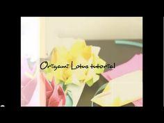 lotus origami tutorial
