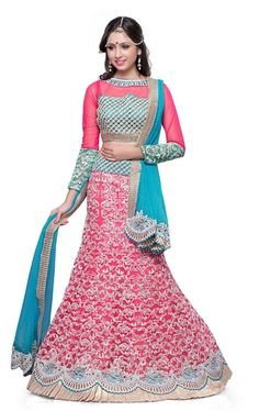 Picture of Tranquil Rose Pink Lehenga Choli Online