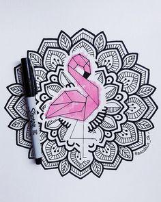 Una colaboración con una persona maravillosa p. Sharpie Drawings, Sharpie Art, Doodle Drawings, Easy Drawings, Doodle Art, Mandala Doodle, Mandala Drawing, Dibujos Zentangle Art, Zen Art