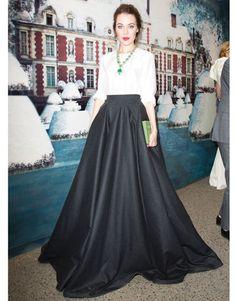 Black Ball Gown Skirt Fashion Dresses