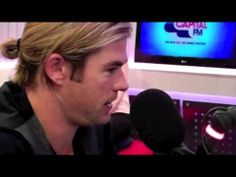 Chris Hemsworth breaks uncomfortable news in the voice of Thor. Hilarious!