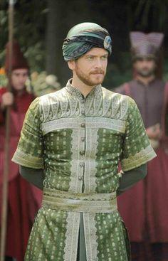Turkish Actor Engin Ozturk (Öztürk) (scene from Magnificent Century tv episode 104-)