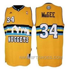 02d9cc0b1 JaVale McGee Denver Nuggets  34 Revolution 30 Swingman Gold Yellow Jersey  Discount 8PcTA