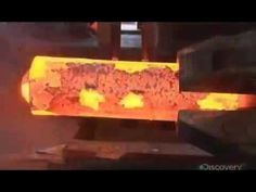 How its made train wheels - YouTube