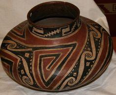 Tonto polychrome jar, Salado culture prehistoric pottery