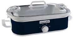 Crock-Pot 3.5-Quart Casserole Crock Manual Slow Cooker, Navy Blue, SCCPCCM350-BL – KITCHEN APPLIANCES