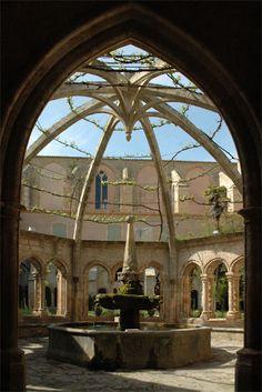 Abbaye Sainte-Marie de Valmagne. Villeveyrac. Languedoc