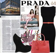 """PRADA"" by the-nicky ❤ liked on Polyvore"