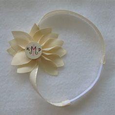 Baptism Flower Headband
