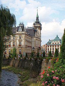 City Hall in Bielsko-Biała, Poland
