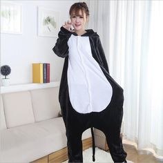 Today Special Women's cat Pattern Footed Pyjamas For Adults Full Sleeve Microfiber Sleep Lounge Onesies Funny Pajamas Women
