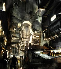 The Art of Deus Ex: Mankind Divided - Games