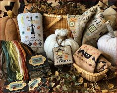 Lizzie Kate - Spooked! Mystery Sampler Club - Part 1