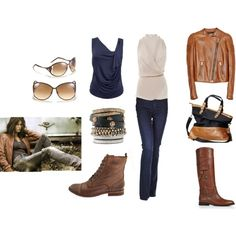 Classic day or night.  Polyvore