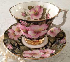 Royal Albert Flora Series Alberta Rose China by TheEclecticAvenue, $39.99