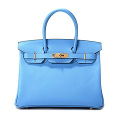 Turn heads in the eye-catching paradise blue and Epsom leather Birkin 30!  #HermesLover #HermesAddict #HermesLove #Hermes #Fashion #Luxury #LuxuryFashion #LuxuryLifestyle #Fashionista #愛馬仕 #Гермес #هرميز #PrivateSelectionGroup #HermesWorld #ClassicHermes #HermesBirkin #Birkin30 #epsom #ParadiseBlue http://www.privateselectiongroup.com/handbags/1647-hermes-birkin-30-epsom-leather-blue-paradise-color-ghw.html