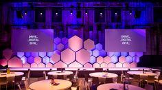 Bart van Rooy on Behance Stage Backdrop Design, Stage Set Design, Church Stage Design, Bühnen Design, Stand Design, Design Ideas, Design Model, Design Inspiration, Google Drive