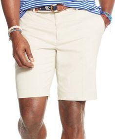POLO RALPH LAUREN Polo Ralph Lauren Men'S Big &Amp; Tall Classic-Fit Performance Chino Shorts. #poloralphlauren #cloth # shorts