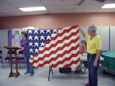 American Flag quilt,  Can't decide:  should it be in quilts or 4th of July?