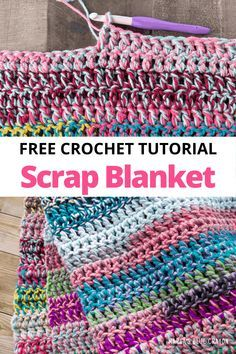 Quick Crochet Blanket, Crochet Square Blanket, Crochet Baby Blanket Free Pattern, Easy Crochet Stitches, Crochet For Beginners Blanket, Afghan Crochet Patterns, Crochet Basics, Crochet Afghans, Easy Crochet Baby Blankets