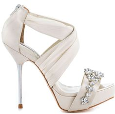 Beautiful wedding heel