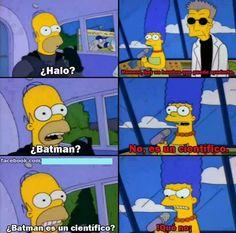 batman es científico ? Jajjajaj