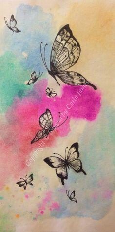Butterfly illustration  on Etsy, £18.00