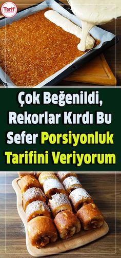 Turkish Recipes, Dessert Recipes, Desserts, Afternoon Tea, Food Art, French Toast, Tart, Food And Drink, Menu