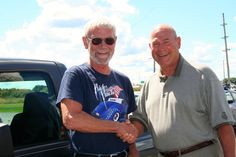 Picture:  William Willey with David Root Congratulations William on your 2009 Ford Ranger! Thank you from all of us at Advantage Ford Lincoln.