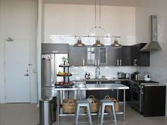 Gwyneth Paltrow's Nashville Apartment by Annette Joseph. Kitchen. goop.com