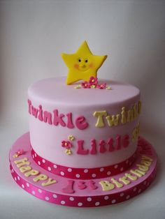 Twinkle Twinkle Little Star - by pooh28 @ CakesDecor.com - cake decorating website