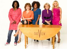 """""""The View""""...they refuse to let each other talk without butting in on everything...turns into jibber jabber AND Barbara Walters really should be considering retirement and working behind the scenes???"""