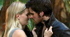 Colin O'Donoghue - Killian Jones -Captain Hook - Jennifer Morrison - Emma Swan - Once Upon A Time S3