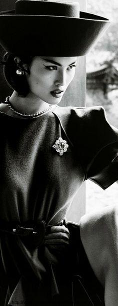 Portrait of A Lady - Vogue China, December 2013