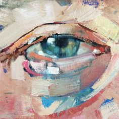 53 Amazing and Realistic Eye drawing. Abstract Portrait Painting, Abstract Painters, Portrait Art, Painting & Drawing, Painting Inspiration, Art Inspo, Realistic Eye Drawing, A Level Art, Eye Art