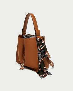 f0e42a774f9 BUCKET BAG WITH SCARF DETAIL - View all-BAGS-SALE-WOMAN