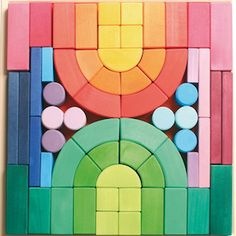 color blocks. romanesque block set $150