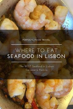 We ate a LOT of seafood in Lisbon to come up with our recommendation for the BEST seafood in Portugal!