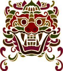 Characteristics of a Korean Goblin/Dokkaebi Korean Tattoos, Asian Tattoos, Korean Art, Asian Art, Korean Dragon, Violin Painting, Popular Logos, Ornament Drawing, Chinese Patterns