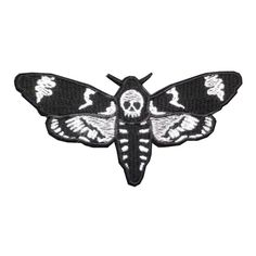 Death head moth patch https://www.dominia-shop.nl/nl/395/patches-pins.html