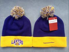 NBA Los Angeles Lakers Beanies (11) , for sale  $5.9 - www.hatsmalls.com