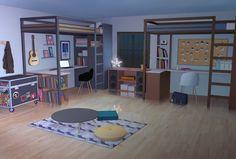 Chambre de Hyun de nuit Meme Background, Scenery Background, Living Room Background, Episode Interactive Backgrounds, Episode Backgrounds, Anime Scenery Wallpaper, Iphone Background Wallpaper, Casa Anime, Anime Places
