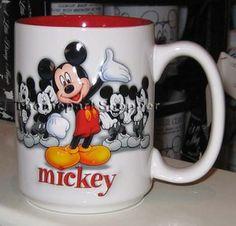 Mickey Mouse Coffee Mug - 5 Figures