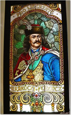 Ferenc Rakoczi ll Grand Prince, Heart Of Europe, Saint Germain, Coat Of Arms, Mosaic Glass, Budapest, Mythology, Folk, Culture