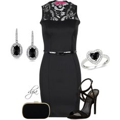 """""""BOOHOO Dress"""" by dgia on Polyvore"""